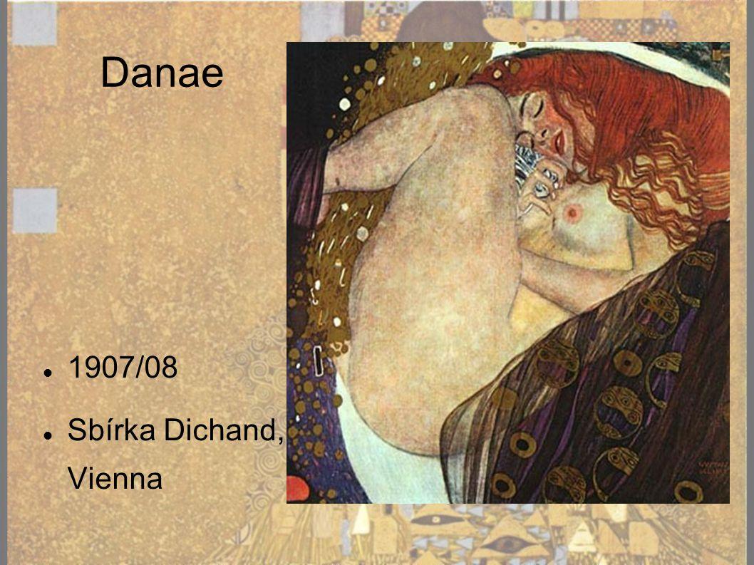 Danae 1907/08 Sbírka Dichand, Vienna