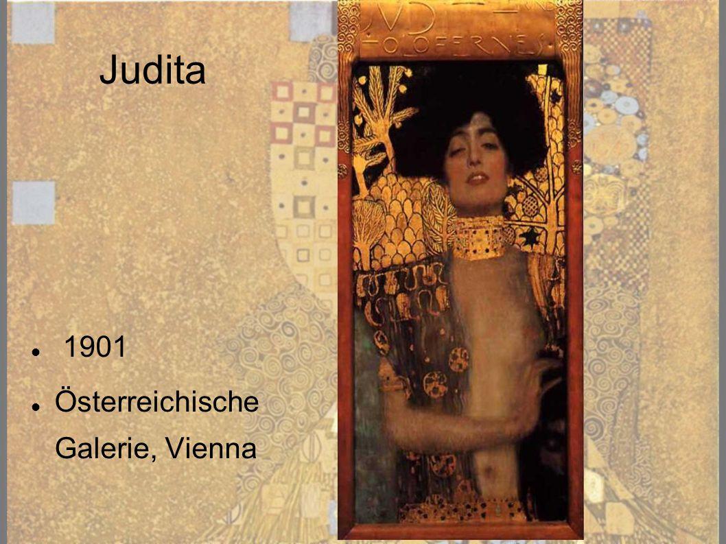 Judita 1901 Österreichische Galerie, Vienna