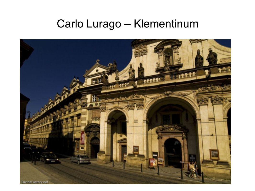 Carlo Lurago – Klementinum