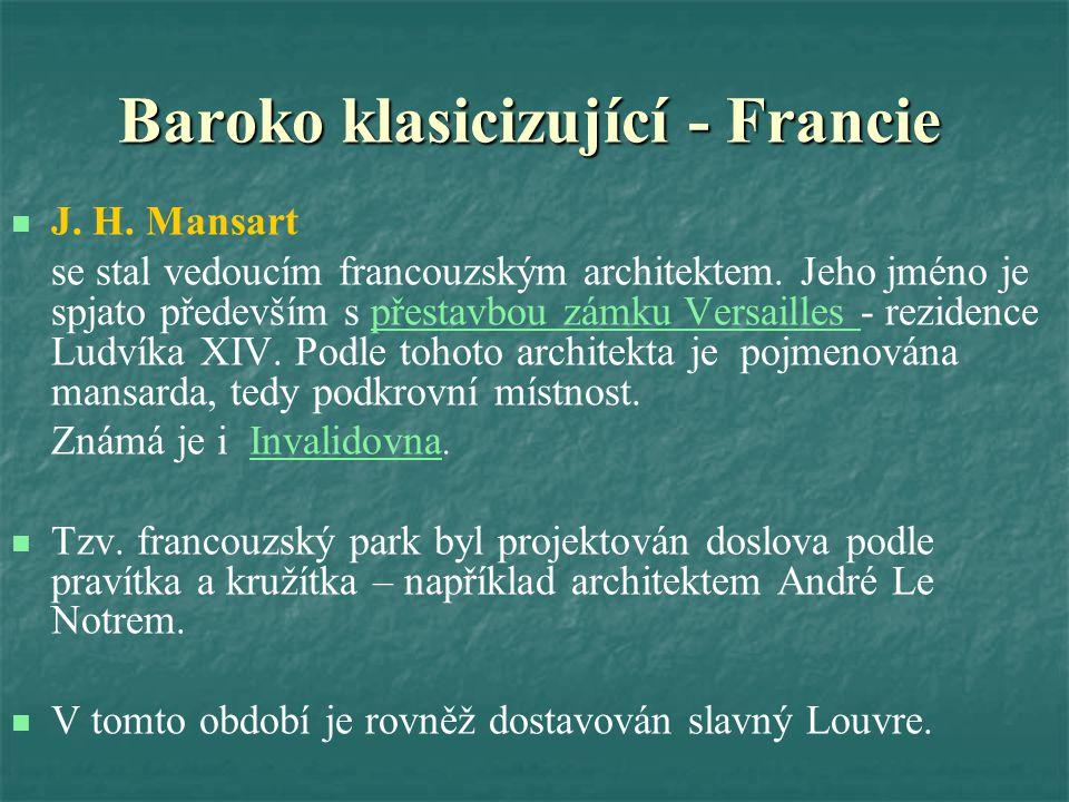 Baroko klasicizující - Francie