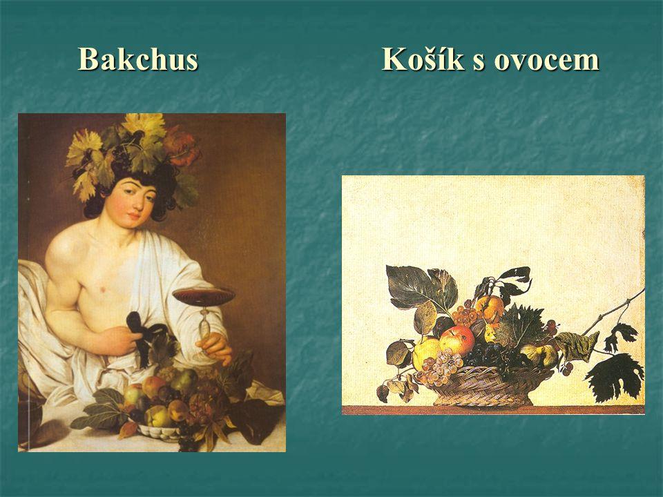 Bakchus Košík s ovocem