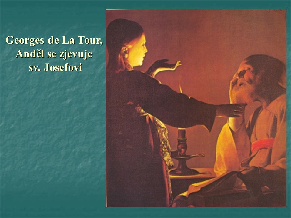 Georges de La Tour, Anděl se zjevuje sv. Josefovi