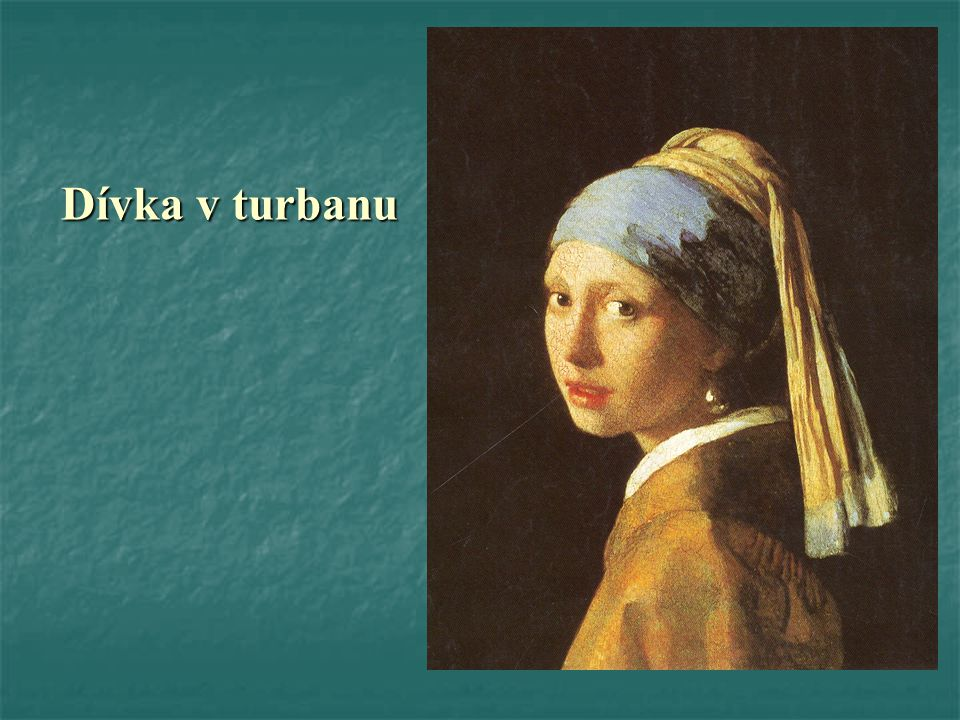 Dívka v turbanu