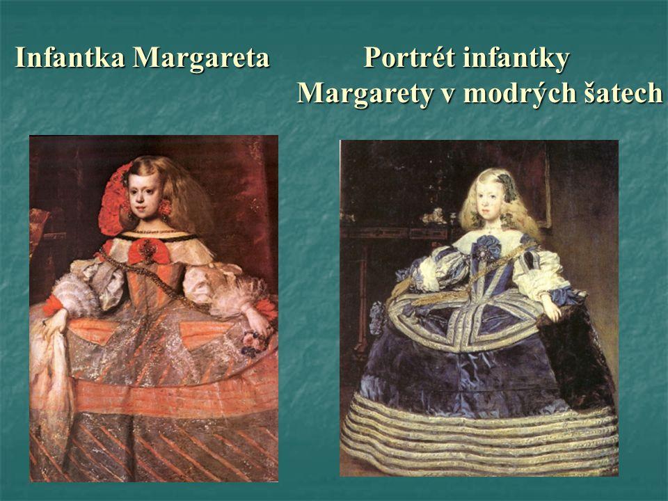 Infantka Margareta Portrét infantky