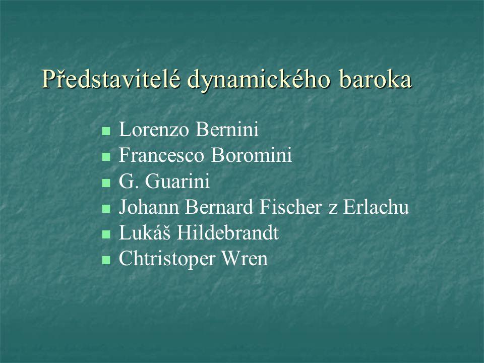 Představitelé dynamického baroka