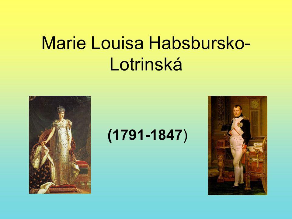 Marie Louisa Habsbursko-Lotrinská