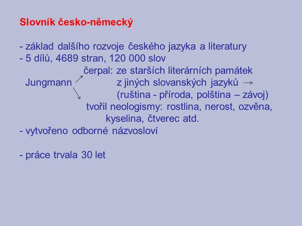 Slovník česko-německý