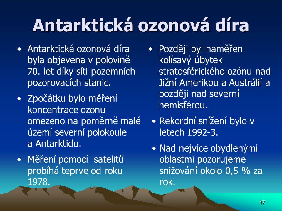 Antarktická ozonová díra