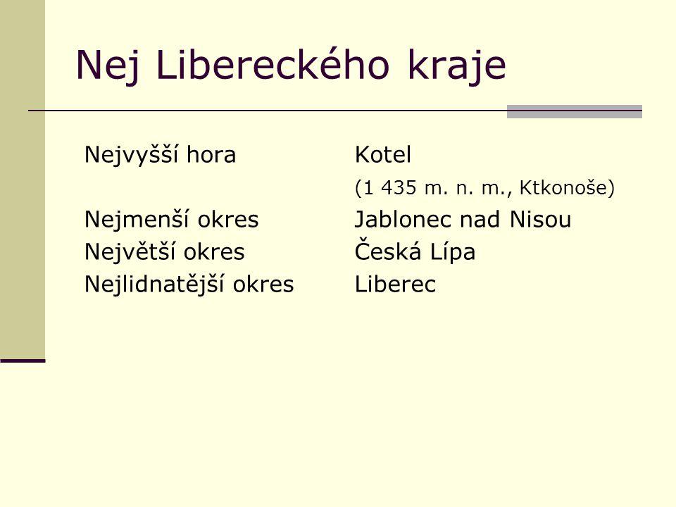 Nej Libereckého kraje