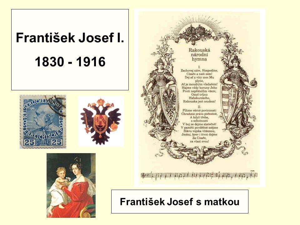 František Josef s matkou
