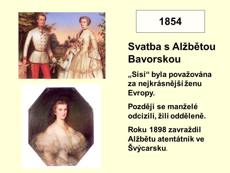 Svatba s Alžbětou Bavorskou