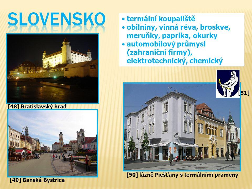 SLOVENSKO termální koupaliště