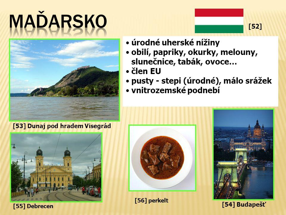 MAĎARSKO úrodné uherské nížiny