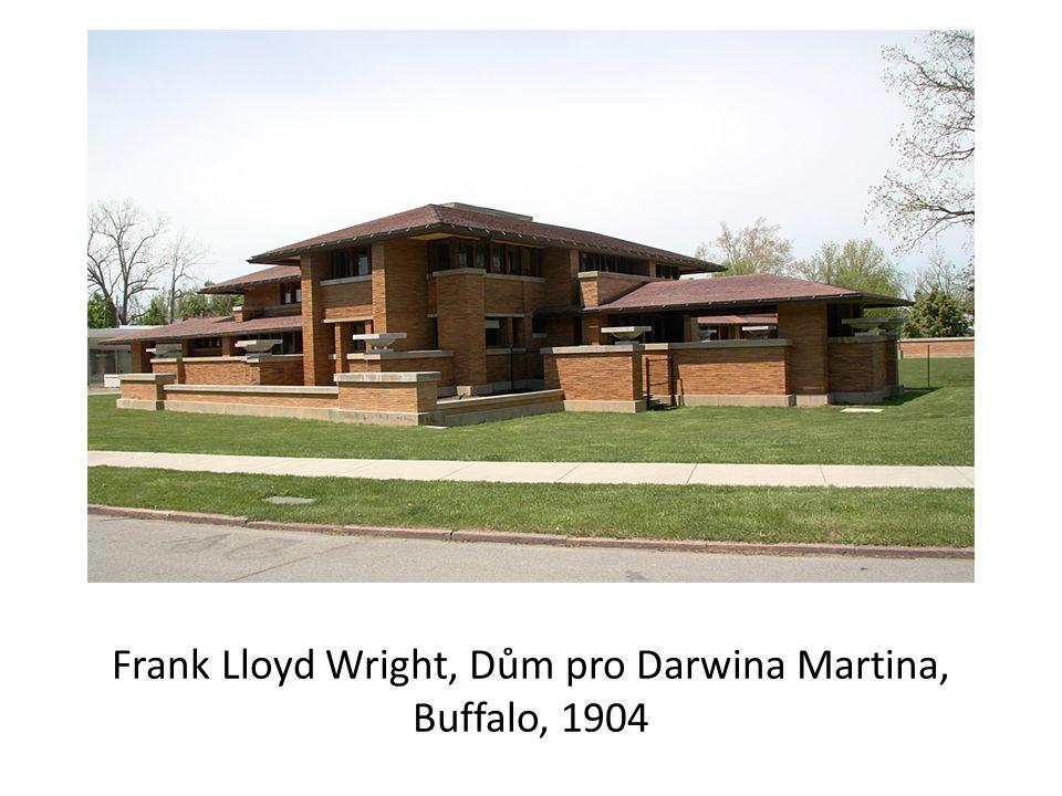 Frank Lloyd Wright, Dům pro Darwina Martina, Buffalo, 1904