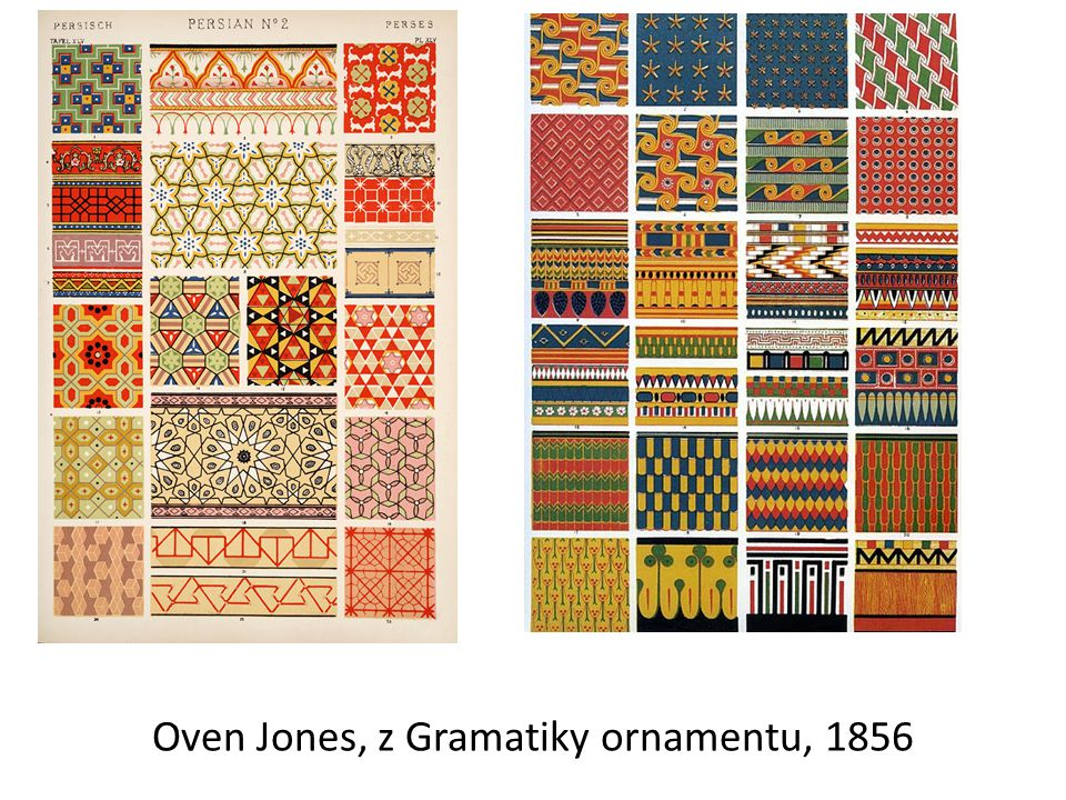 Oven Jones, z Gramatiky ornamentu, 1856