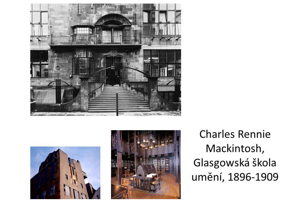 Charles Rennie Mackintosh, Glasgowská škola umění, 1896-1909