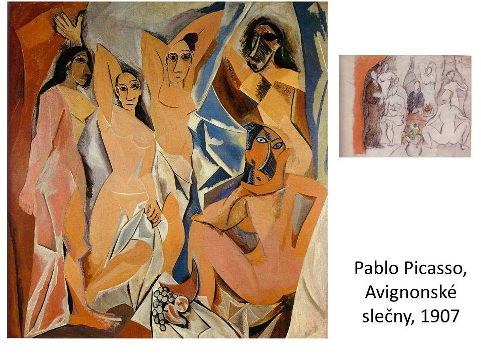 Pablo Picasso, Avignonské slečny, 1907