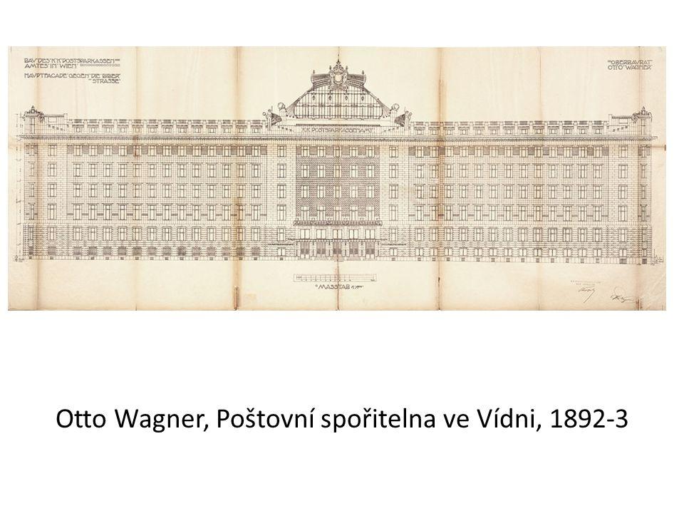 Otto Wagner, Poštovní spořitelna ve Vídni, 1892-3