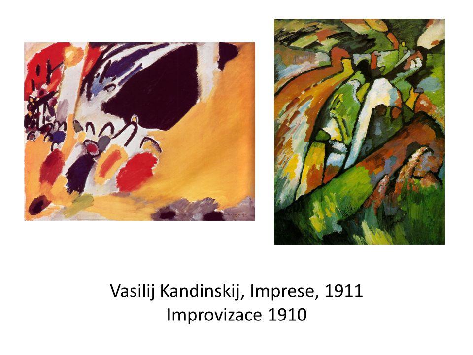Vasilij Kandinskij, Imprese, 1911 Improvizace 1910
