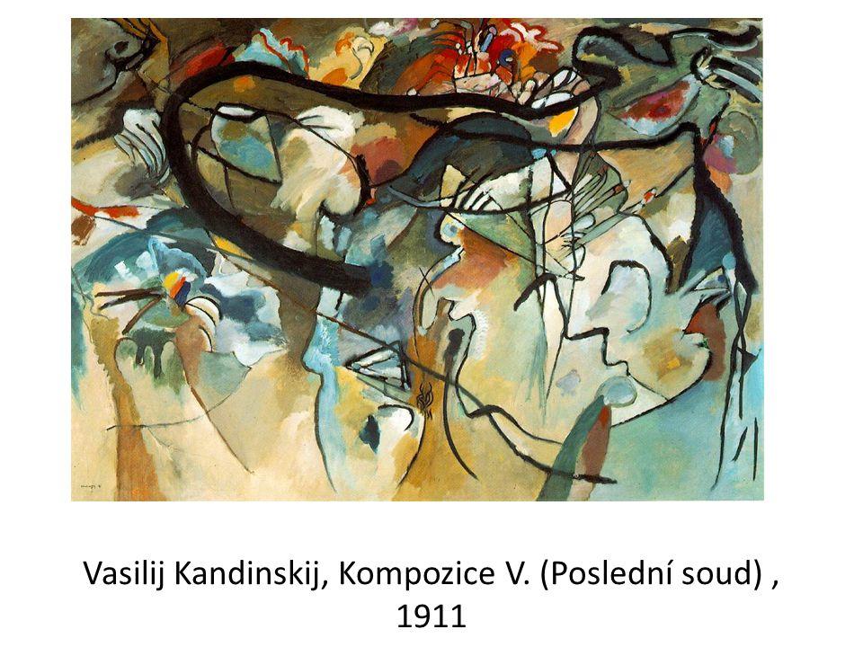 Vasilij Kandinskij, Kompozice V. (Poslední soud) , 1911