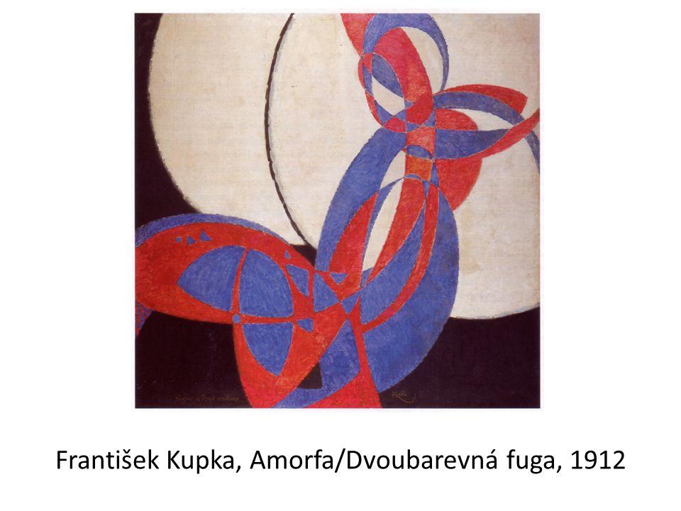 František Kupka, Amorfa/Dvoubarevná fuga, 1912