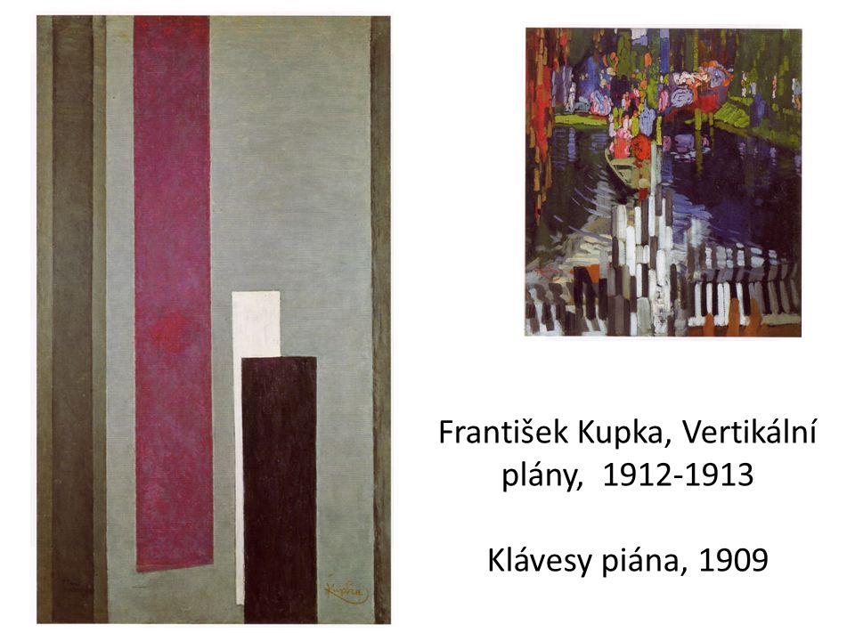 František Kupka, Vertikální plány, 1912-1913 Klávesy piána, 1909