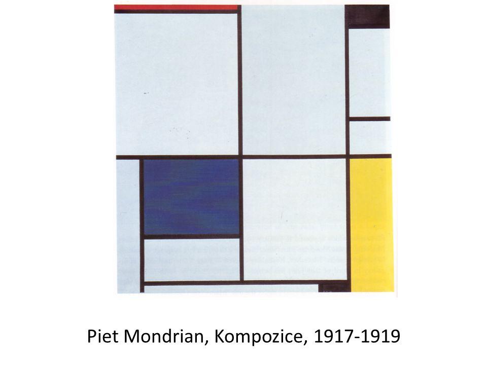 Piet Mondrian, Kompozice, 1917-1919
