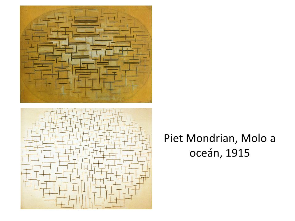 Piet Mondrian, Molo a oceán, 1915