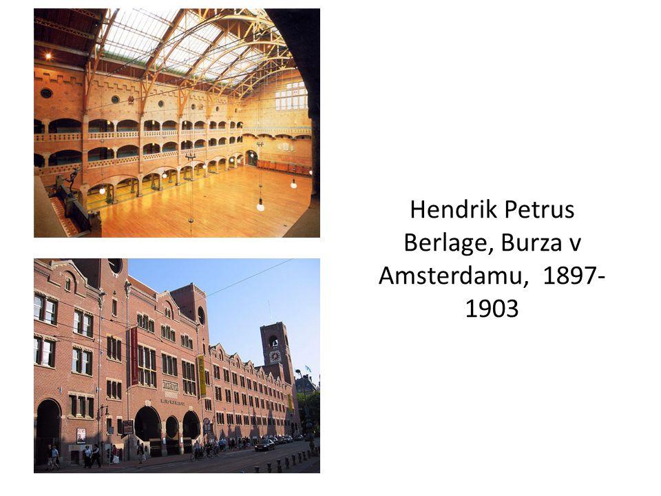 Hendrik Petrus Berlage, Burza v Amsterdamu, 1897-1903