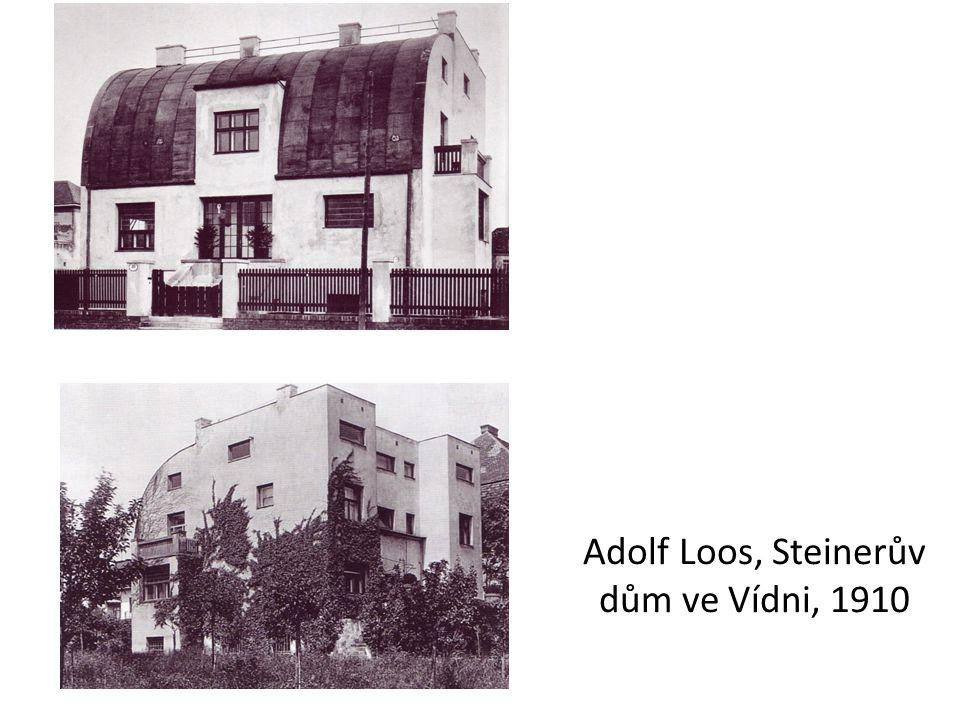 Adolf Loos, Steinerův dům ve Vídni, 1910
