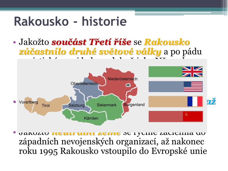 Rakousko - historie