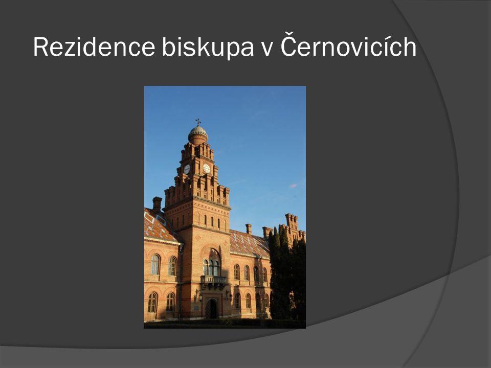 Rezidence biskupa v Černovicích