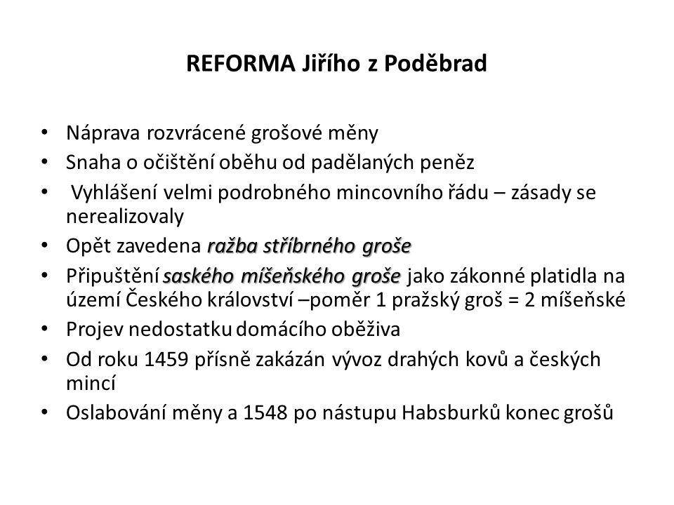 REFORMA Jiřího z Poděbrad