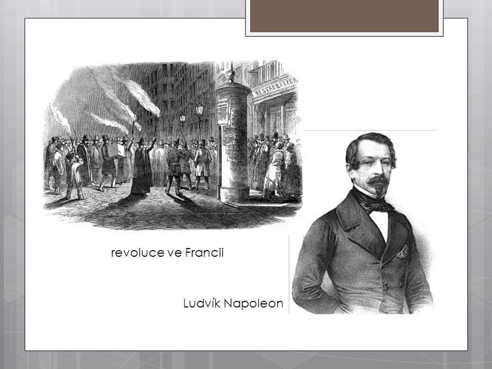 revoluce ve Francii Ludvík Napoleon