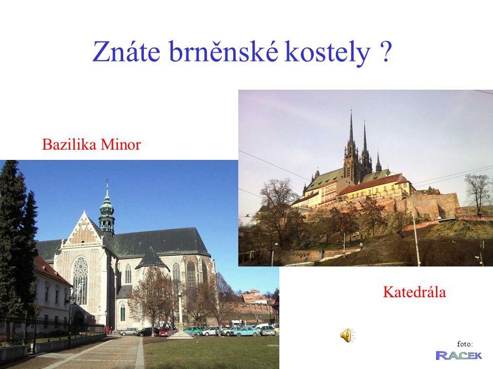 Znáte brněnské kostely