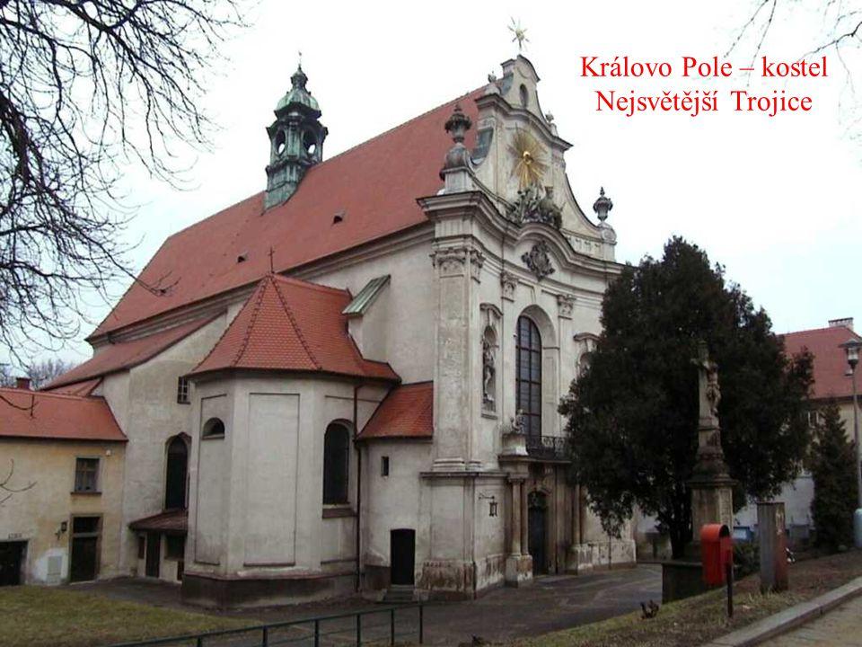 Královo Pole – kostel Nejsvětější Trojice