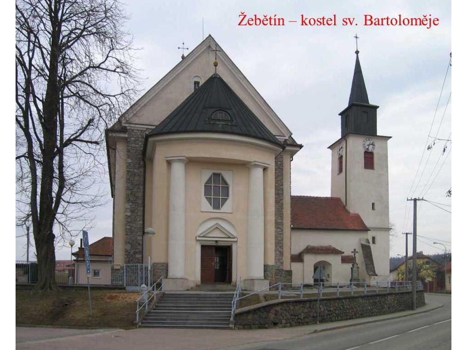 Žebětín – kostel sv. Bartoloměje