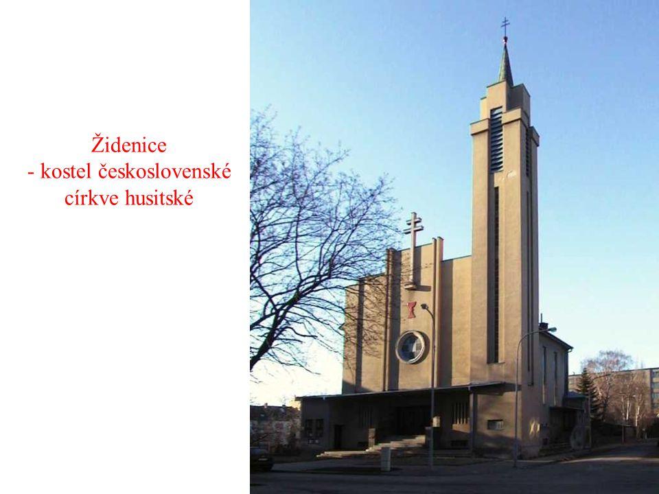 Židenice - kostel československé církve husitské