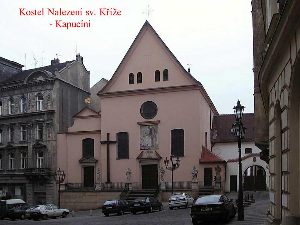 Kostel Nalezení sv. Kříže - Kapucíni
