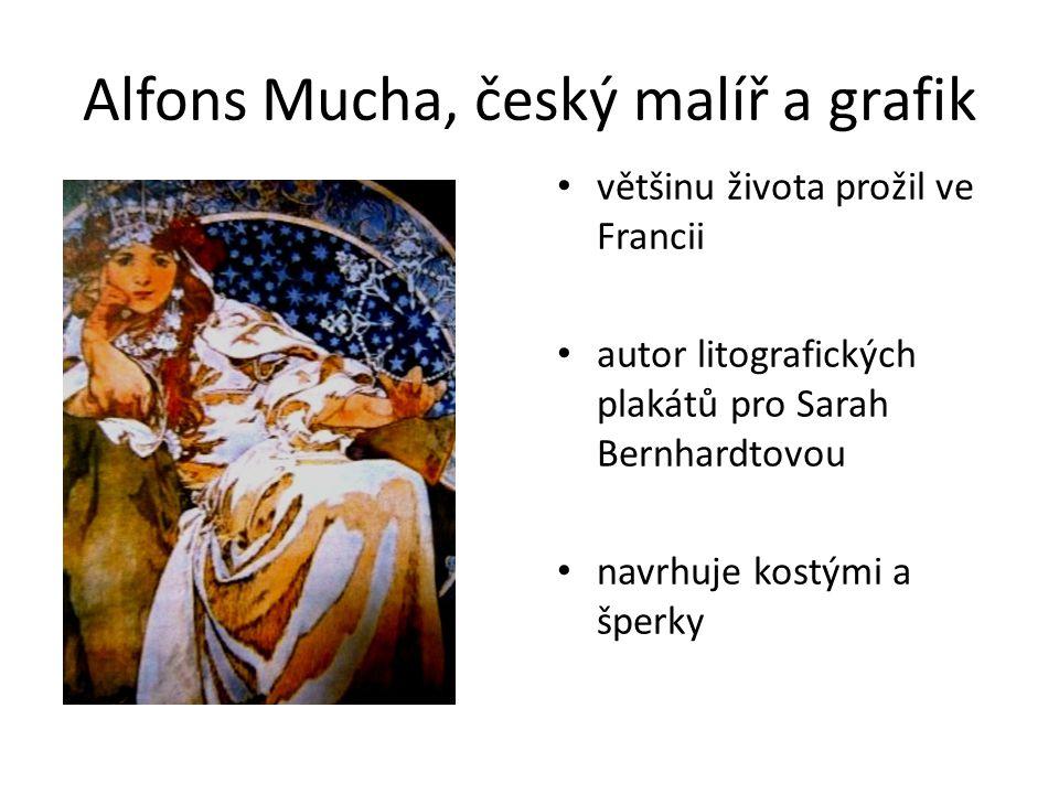Alfons Mucha, český malíř a grafik