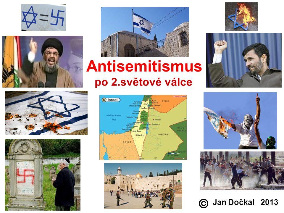 Antisemitismus po 2.světové válce