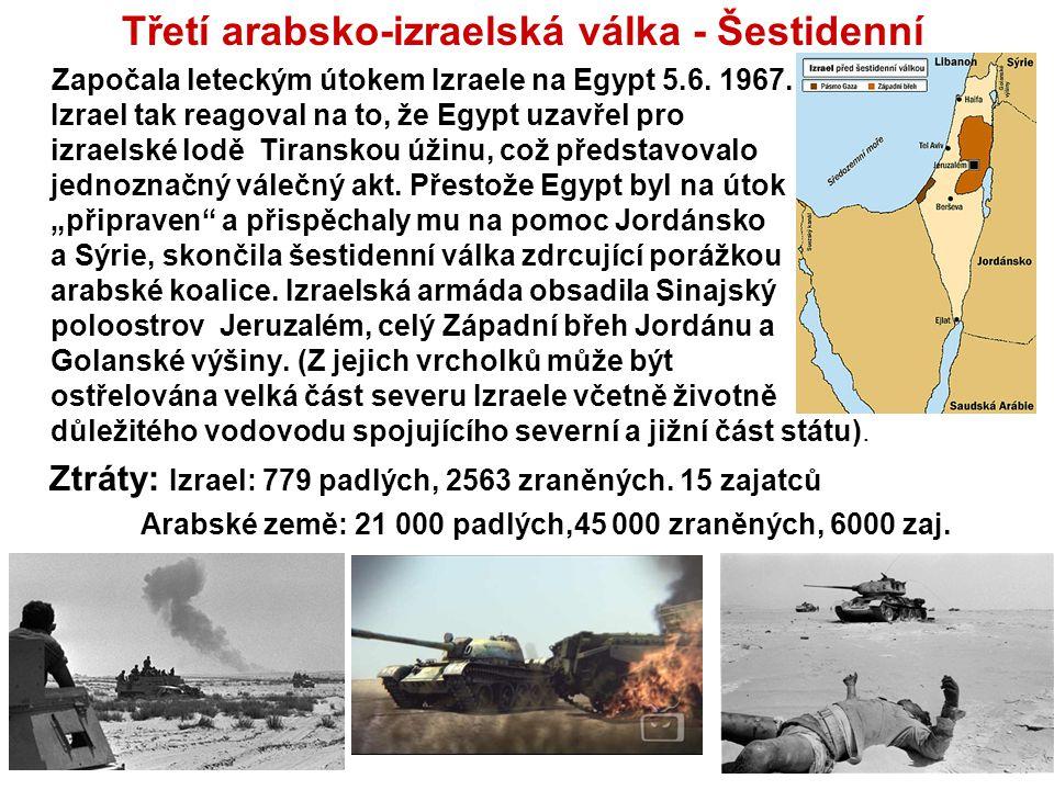 Třetí arabsko-izraelská válka - Šestidenní