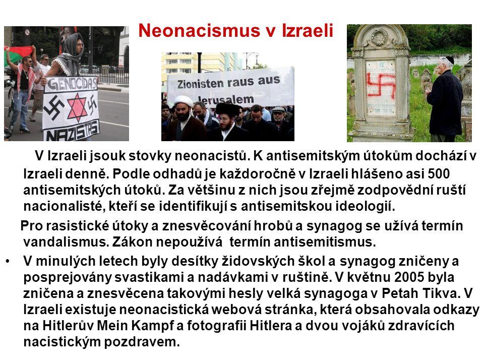 Neonacismus v Izraeli
