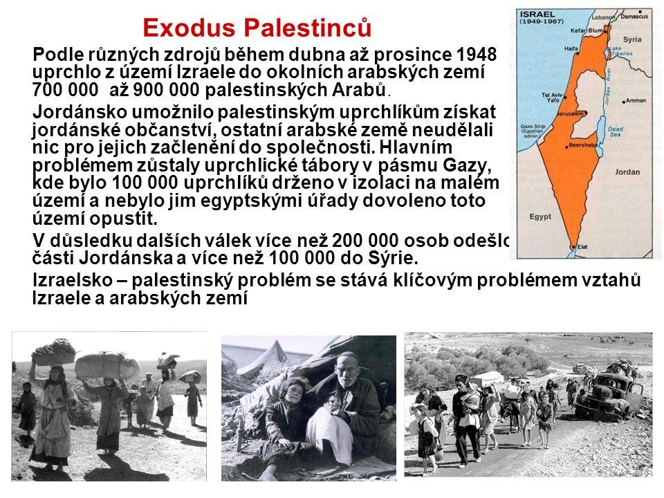 Exodus Palestinců