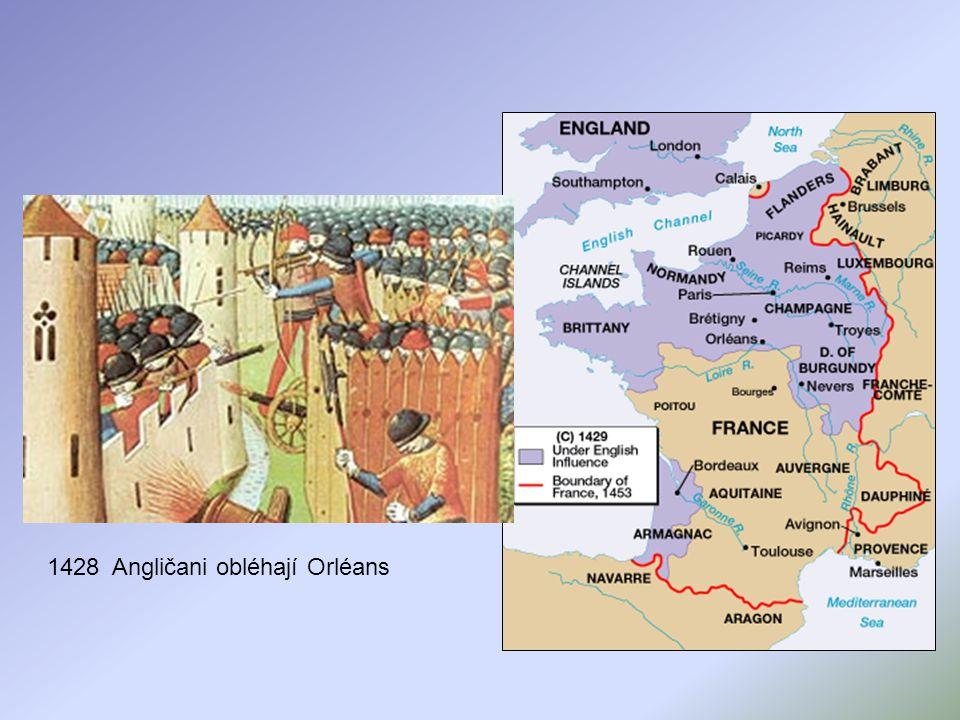1428 Angličani obléhají Orléans