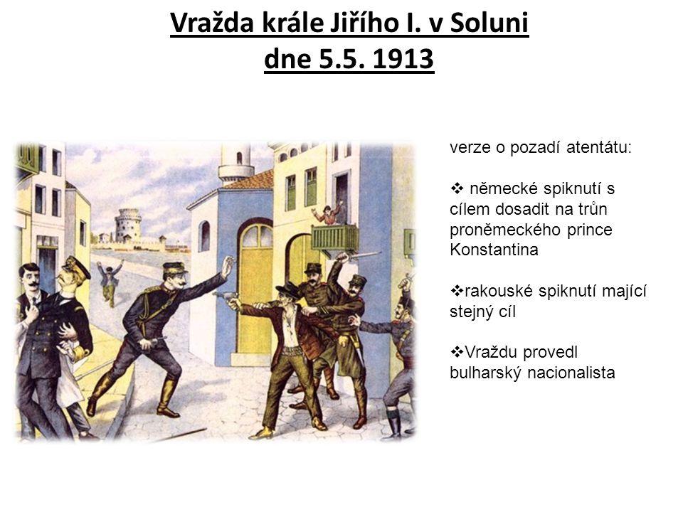 Vražda krále Jiřího I. v Soluni dne 5.5. 1913