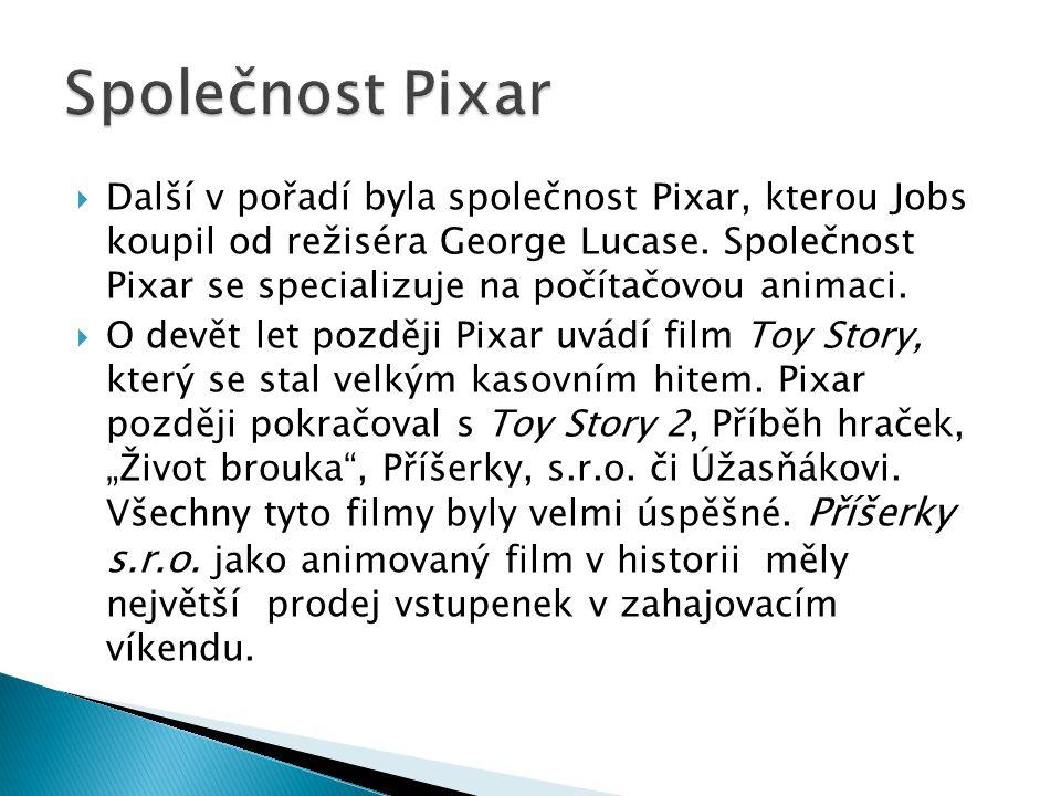 Společnost Pixar