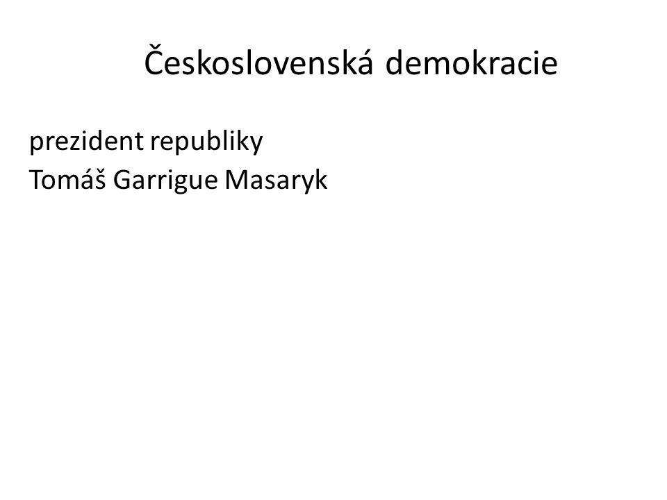 Československá demokracie