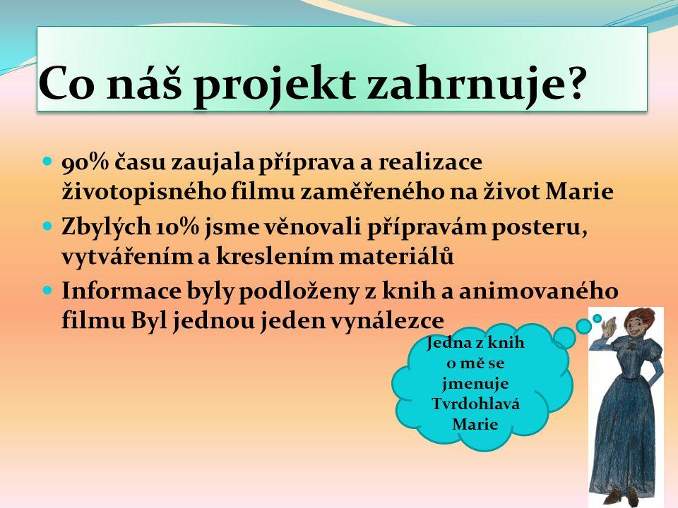 Co náš projekt zahrnuje