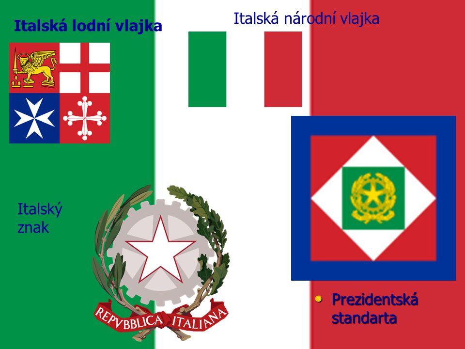 Italská národní vlajka
